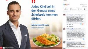 FPÖ-Post auf Facebook