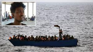 """Mittelmeer: Bootsunglück-Überlebender berichtet: """"Erst kämpfen wir gegen den Tod im Meer, jetzt gegen den an Land"""""""