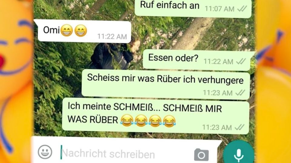 """""""Scheiss"""" statt """"Schmeiß"""" – die Autokorrektur bei Whatsapp sorgt für unfreiwillige Lacher"""