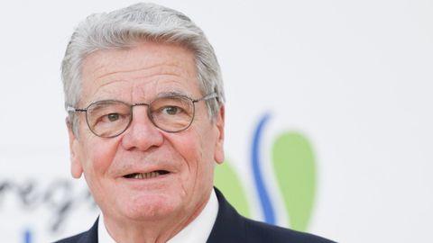 Joachim Gauck war bis 2017 fünf Jahre lange Bundespräsident