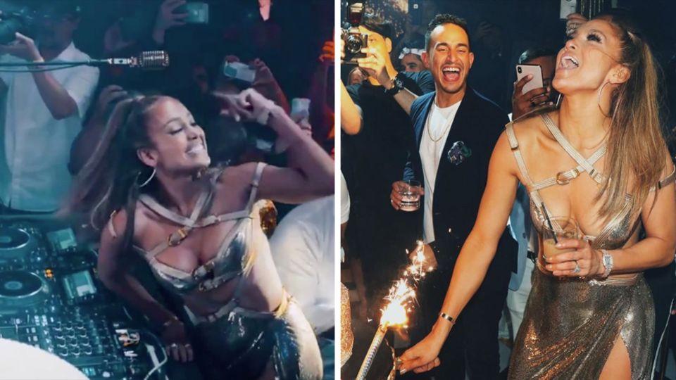 Jennifer Lopez beweist eindrucksvoll, wie viel Energie in ihr steckt