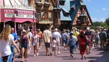 Besucher bei Disney World