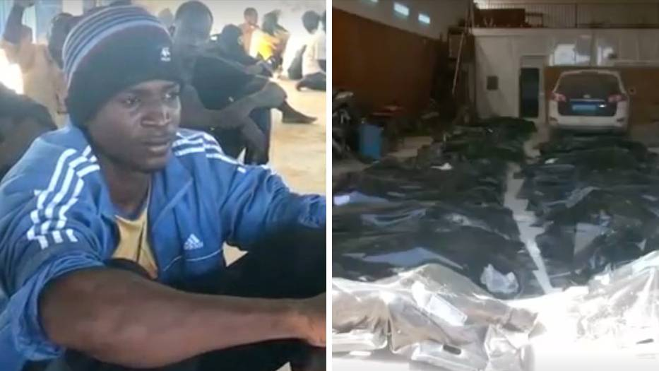 Nach dem Untergang eines Flüchtlingsschiffs haben Rettungskräfte vor der libyschen Küste mehr als 60 Leichen geborgen.