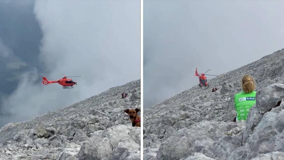 Watzmann: Bergretter bargen die junge Frau in einer zwölfstündigen Rettungsaktion.