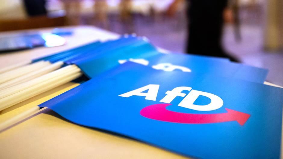 AfD-Fähnchen