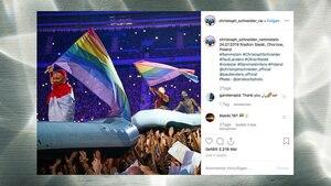 Rammstein setzt bei Konzert in Polen ein Zeichen gegen Homophobie