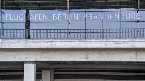 Das Terminal des Hauptstadtflughafens Berlin Brandenburg Willy Brandt