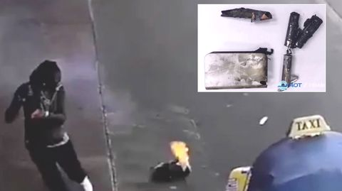 Powerbank explodiert im Rucksack