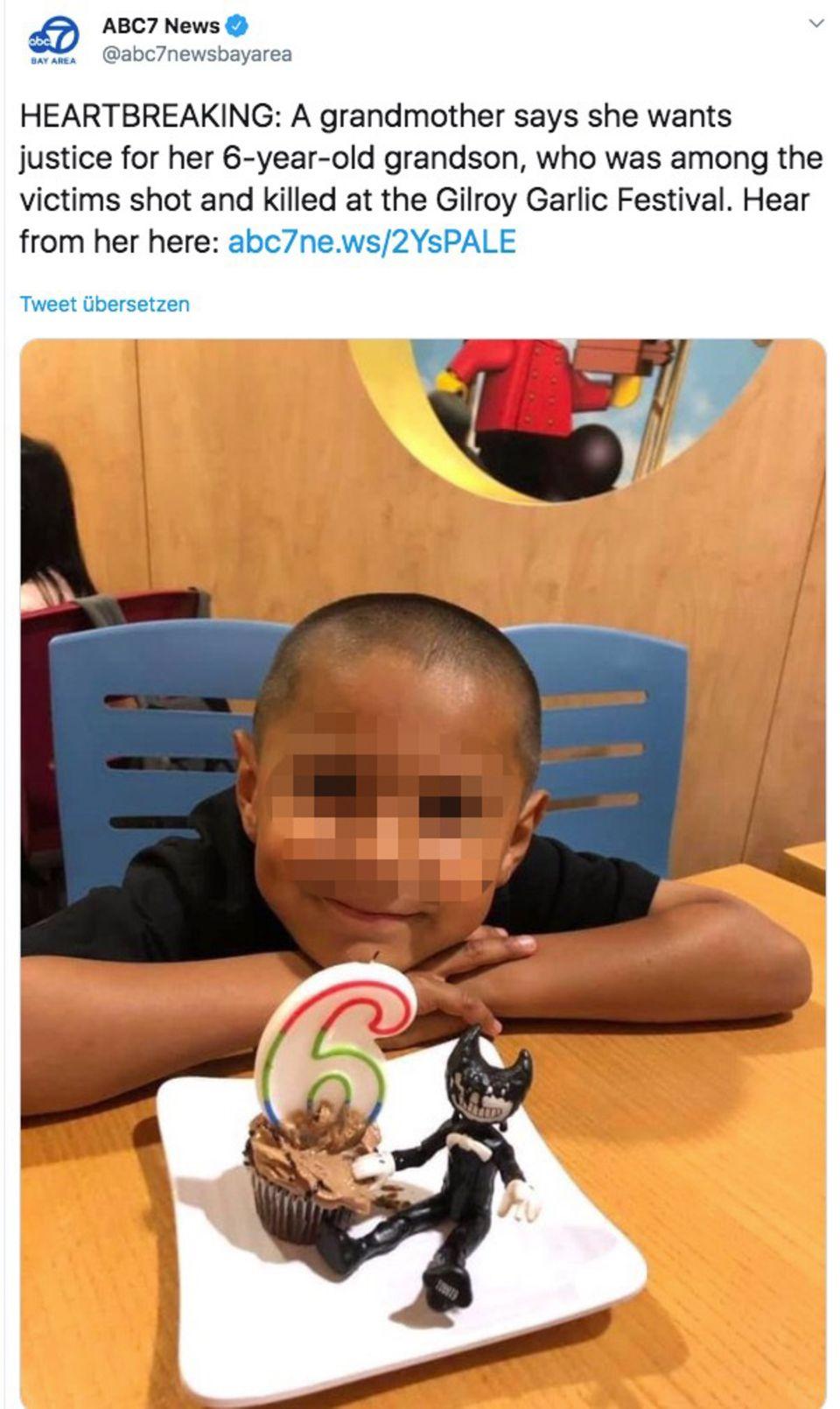Familien-Tragödie: Der kleine Stephen freute sich auf einen Ausflug – doch der Gilroy-Schütze nahm ihm das Leben
