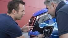 Mercedes EQV Erprobungsfahrt - Entwicklungsleiter Benjamin Kaehler