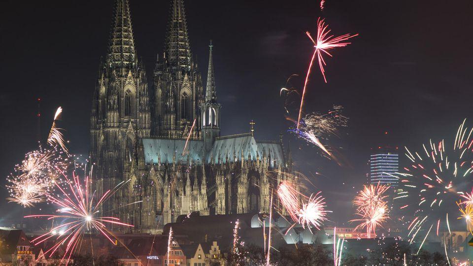 Köln an Silvester: So dürfte das in Zukunft nicht mehr aussehen ...