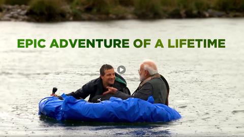 Man vs. Wild – Die Naturdoku mit Narendra Modi und dem Dokumentarfilmer Bear Grylls