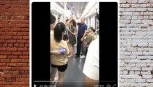 Upskirting: Wie dieser Mann eine Frau in der U-Bahn davor rettet