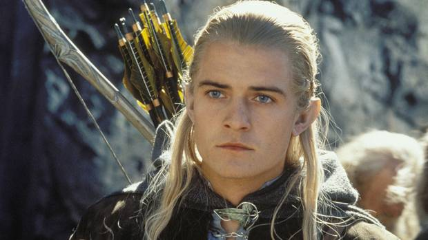 "Orlando Bloom in ""Herr der Ringe"""