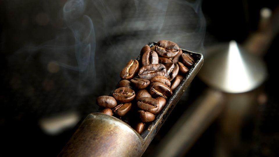 Kaffee rösten
