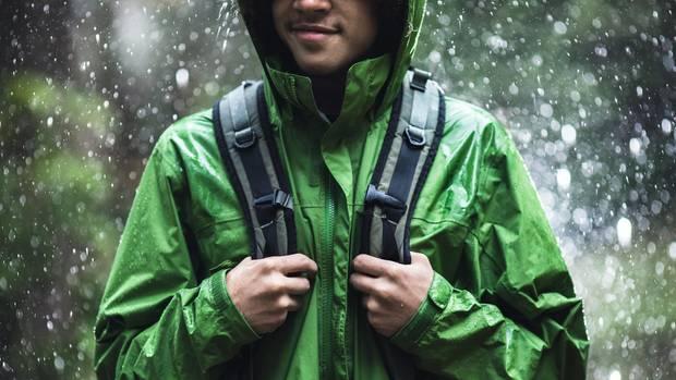 Die richtige Kleidung für schlechtes Wetter