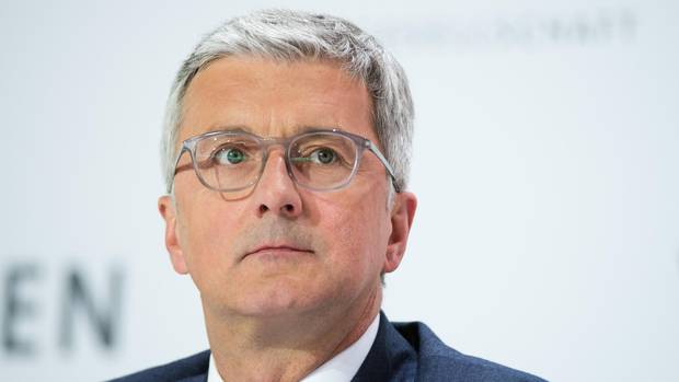 RupertStadler war am 18. Juni 2018 wegen Betrugsverdachts und Verdunkelungsgefahr in Ingolstadt verhaftet worden