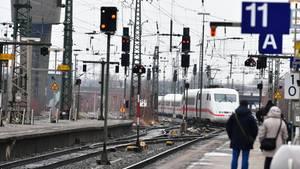 Der Bahnhof in Hamburg-Altona