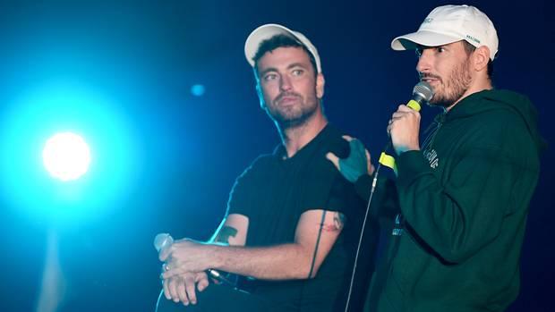 Marteria und Casper stellen ihr gemeinsames Album vor