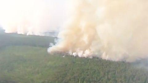 Waldbrand in Sibirien: Die Rauchwolken haben bereits die Arktis erreicht