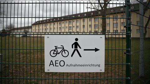 Das Ankerzentrum im bayerischen Bamberg