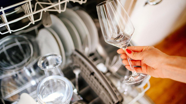 Sie räumen die Spülmaschine nicht richtig ein  Überfüllen Sie die Maschine, hat das Geschirr keine Möglichkeit richtig sauber zu werden. Lebensmittelreste bleiben so an Teller oder Besteck kleben und sind dann anfällig für Schimmel.