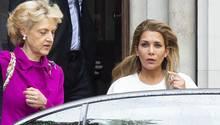 Prinzessin Haya mit ihrer Anwältin Fiona Shackelton