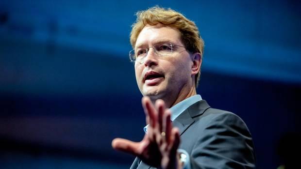 Ola Källenius, Vorstandsvorsitzender der Daimler AG