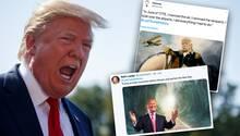 #LostTrumpHistory: Donald Trump reist in Internet-Meme durch die Zeit