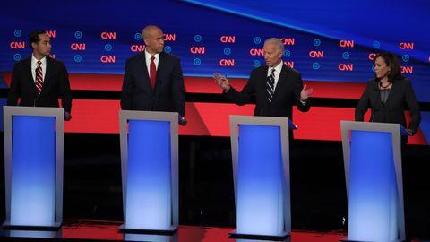 Joe Biden in der TV-Debatte