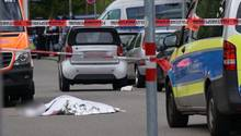 Mord-Tatort in Stuttgart