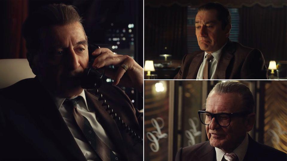 "Robert De Niro, Al Pacino und Joe Pesci in ""The Irishman"""