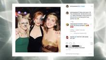 Evanna Lynch, J. K. Rowling und Emma Watson