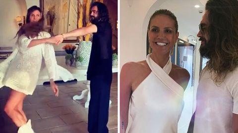 Heidi und Tom in Hochzeitsvorfreude