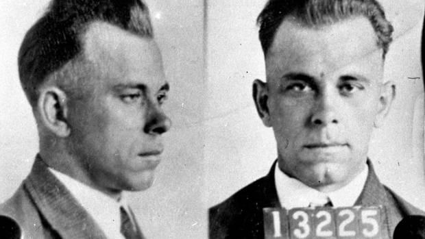 John Dillinger imDezember 1933