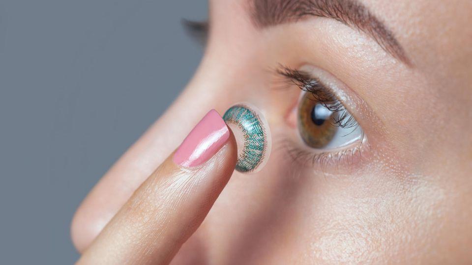 In Zukunft soll die Zoom-Linse wie eine herkömmliche Kontaktlinse einsetzbar sein (Symbolbild)