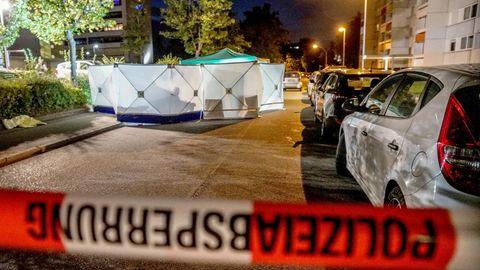 Der Tatort der tödlichen Schwertattacke in Stuttgart