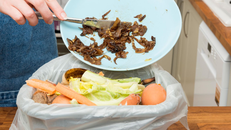 Grobe Speisereste gehören in den Abfall  Lassen Sie Essensreste nicht auf dem Teller und räumen Sie diesen dann in die Spülmaschine. Je größer die Reste sind, desto eher können sie Siebe verstopfen und Pumpen blockieren.