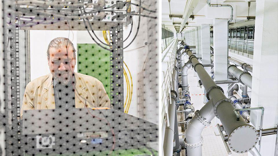 Michael Böttcher ist bei den Berliner Wasserbetrieben für die Cybersicherheit zuständig