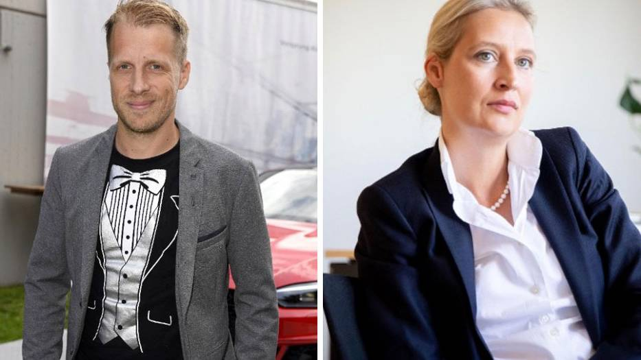 Oliver Pocher kontert gegen Alice Weidel