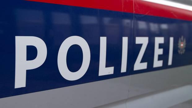 Polizei-Auto der Polizei in Wien (Österreich)