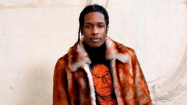 Der US-Rapper Asap Rocky