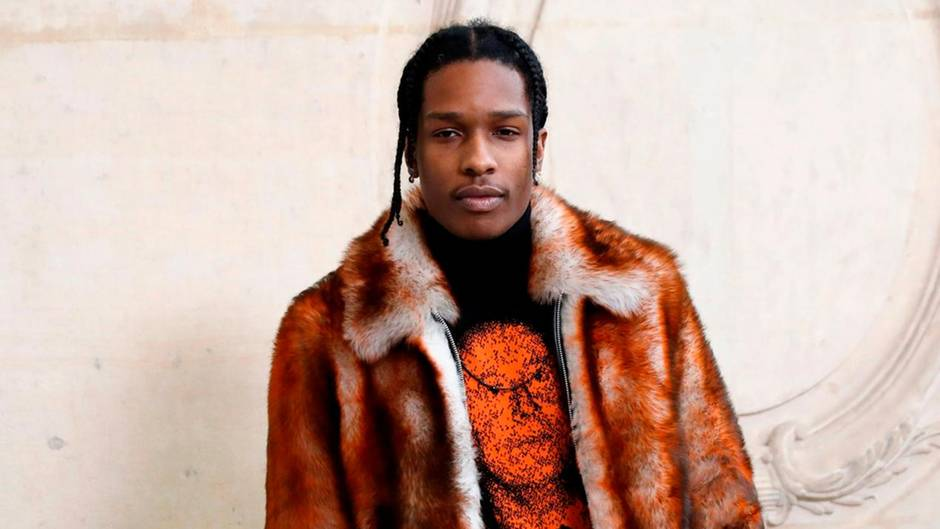 Der US-Rapper Asap Rocky