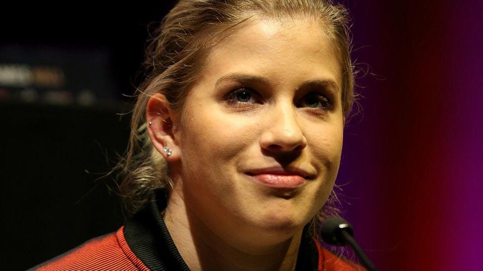 Finals - Top-Turnerin Elisabeth Seit musste dreimal vom Balken absteigen