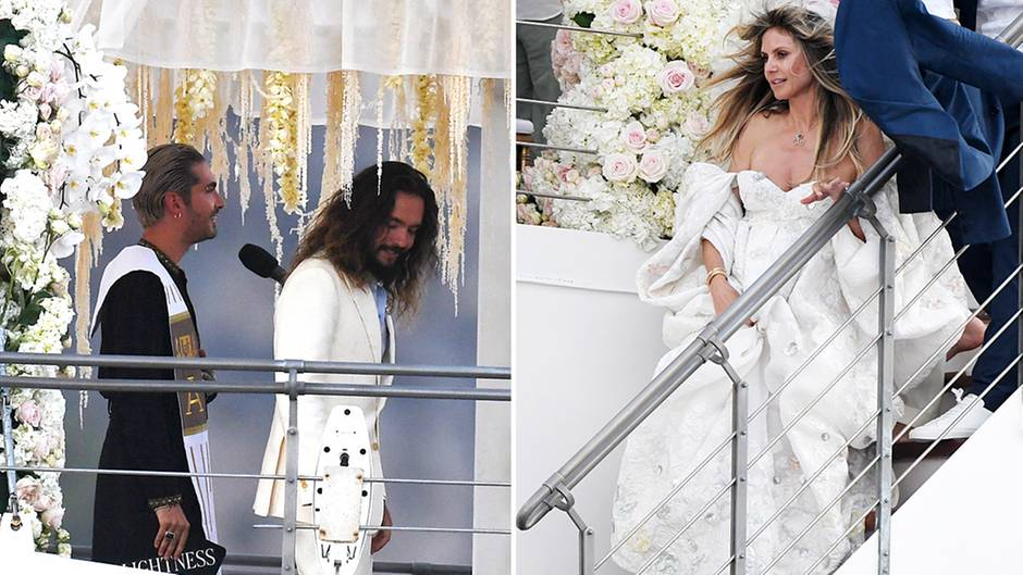 Heidi Klum 46 And Husband Tom Kaulitz 29 Marry For The Second