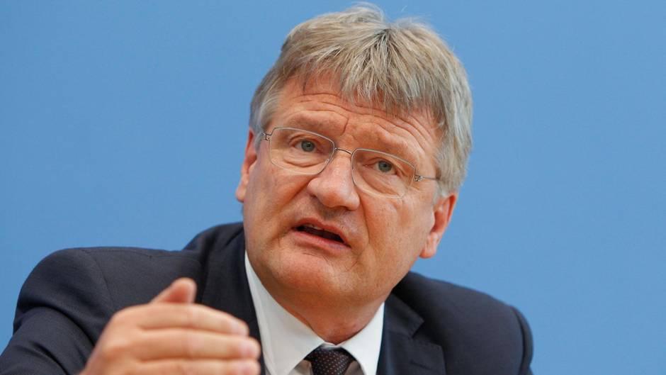 Jörgen Meuthen Verständnis für Anti-Merkel-Tweet nach Frankfurt