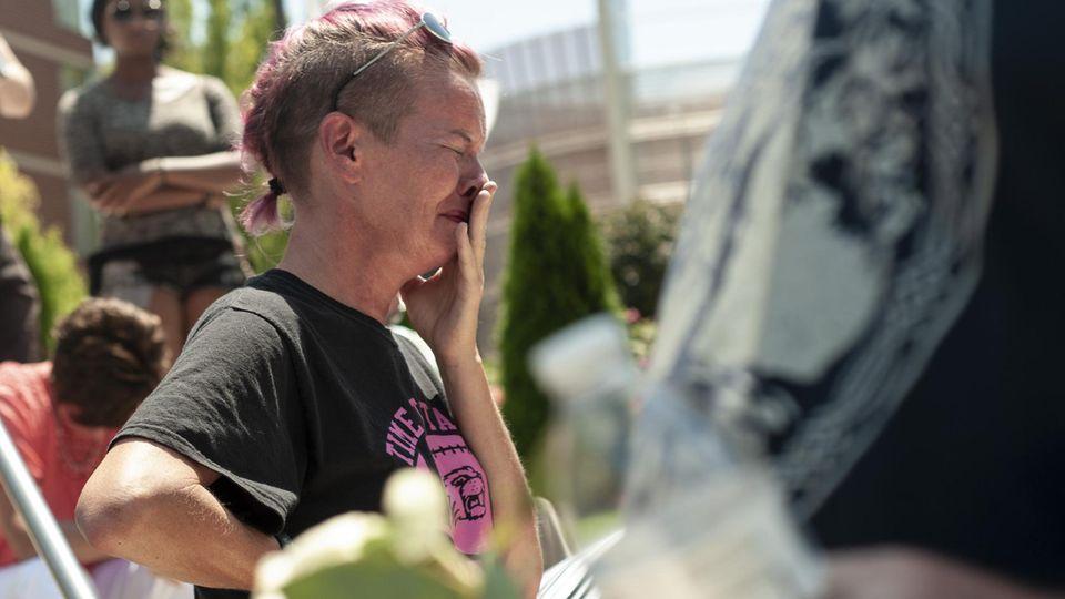 Trauer in Dayton, Ohio nach dem Massaker im Oregon District