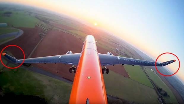 Airbus: Ingenieure testen bewegliche Tragflächen