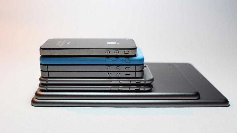 Verschiedene iPhone-Modelle