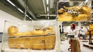 Tutanchamun: Weltberühmter Sarkophag wird erstmals restauriert